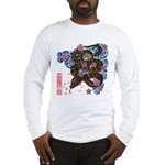 Snake and cherry Long Sleeve T-Shirt