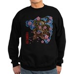 Snake and cherry Sweatshirt (dark)