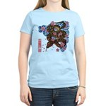 Snake and cherry Women's Light T-Shirt