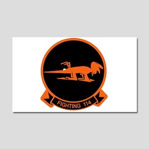 VF-114 Aardvarks Car Magnet 20 x 12
