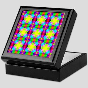 Squares and Circles Keepsake Box