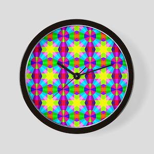 Squares and Circles Wall Clock