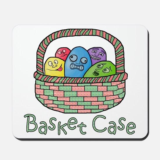 Basket Case Easter Eggs Mousepad
