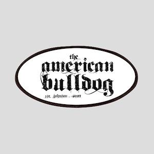 American Bulldog Patches