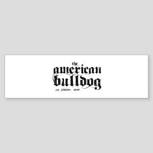American Bulldog Sticker (Bumper)