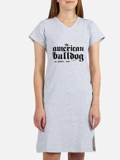 American Bulldog Women's Nightshirt