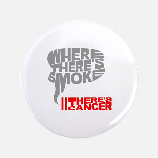 """Where there's smoke 3.5"""" Button (100 pack)"""