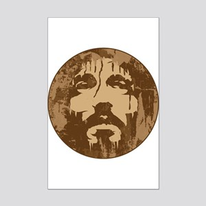 Face of Jesus Mini Poster Print
