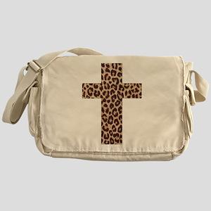 LEOPARD CROSS Messenger Bag