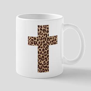 LEOPARD CROSS Mug