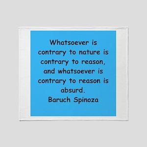 Spinoza Throw Blanket