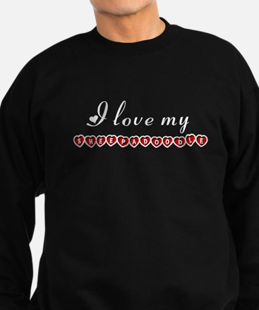 I love my Sheepadoodle Sweatshirt (dark)