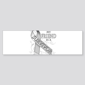 My Friend is a Survivor Sticker (Bumper)