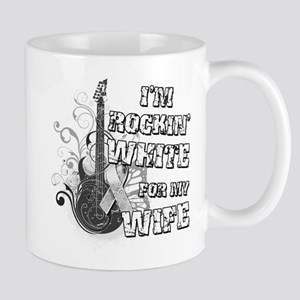 I'm Rockin' White for my WIfe Mug