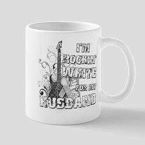 I'm Rockin' White for my Husb Mug