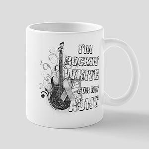 I'm Rockin' White for my Aunt Mug