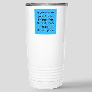 Spinoza Stainless Steel Travel Mug