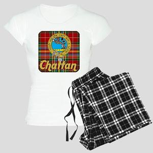 Chattan Ancient Tartan/Badge Women's Light Pajamas