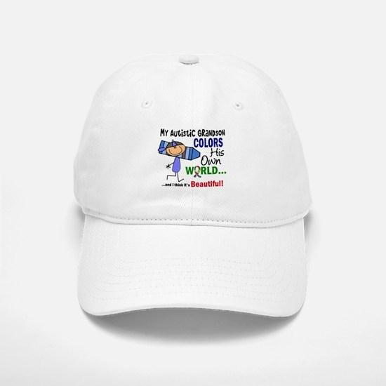 Colors Own World Autism Baseball Baseball Cap