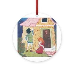 Brisley's Hansel & Gretel Ornament (Round)