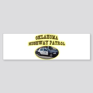 Oklahoma Highway Patrol Sticker (Bumper)