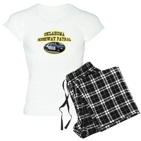Oklahoma Highway Patrol Women's Light Pajamas