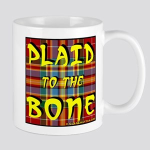 Plaid to the Bone Mug