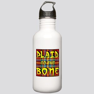 Plaid to the Bone Stainless Water Bottle 1.0L
