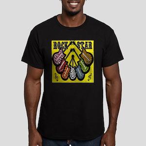 Rock Star Guitars Men's Fitted T-Shirt (dark)