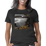 Seal Rock Coastal Scene Women's Classic T-Shirt