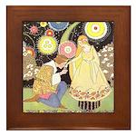 Price's Beauty & Beast Framed Tile