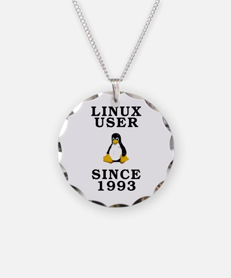 Linux user since 1993 - Necklace