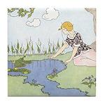 Price's Frog Prince Tile Coaster