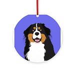 Bernese Mountain Dog Ornament (Round)