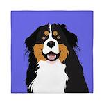 Bernese Mountain Dog Queen Duvet