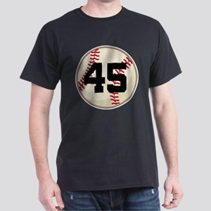 Baseball Player Number 45 Team T-Shirt