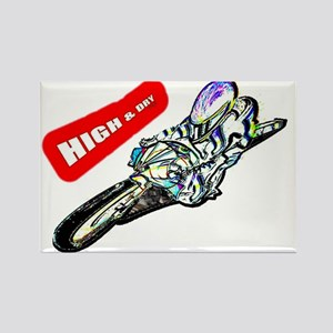 high and dry Rectangle Magnet (10 pack)