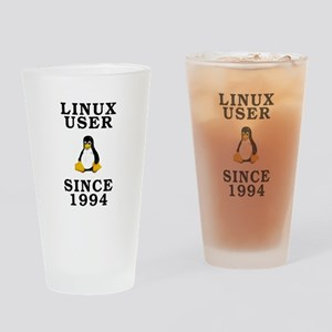 Linux user since 1994 - Drinking Glass