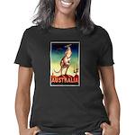 Australia Travel Kangaroo  Women's Classic T-Shirt