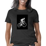 Bicycle Racing Abstract Si Women's Classic T-Shirt