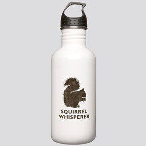 Vintage Squirrel Whisperer Stainless Water Bottle
