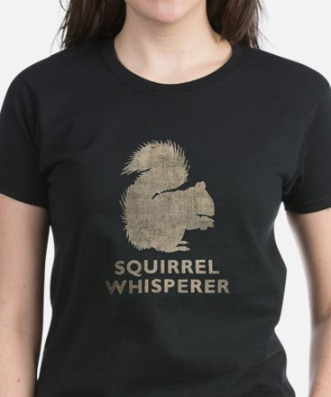 Vintage Squirrel Whisperer Women's Dark T-Shirt