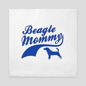 Beagle Mommy Queen Duvet