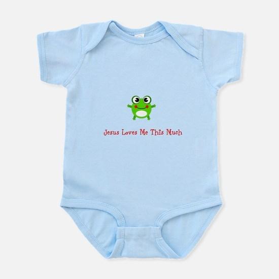 Jesus loves Me Infant Bodysuit