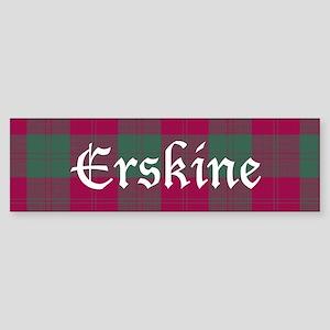 Tartan - Erskine Sticker (Bumper)