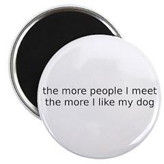 I like my dog Magnet