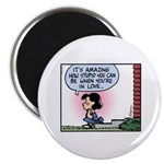 Lucy in Love Magnet