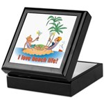 Beach Life Keepsake Box