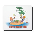 Beach Life Mousepad