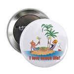 Beach Life Button